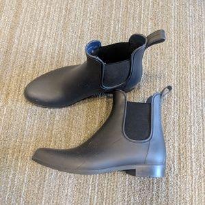 J Crew Chelsea Navy Blue Rain Boots